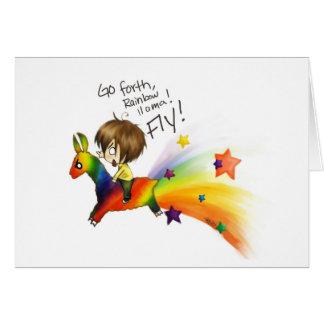 Rainbow Llama Cards