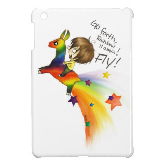 Rainbow Llama Cover For The iPad Mini