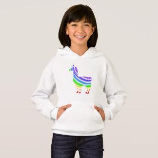 Rainbow Llama Hoodie