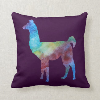 Rainbow Llamas Cushion