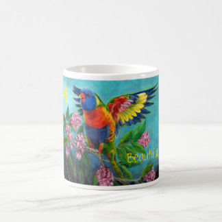 Rainbow Lori on mug