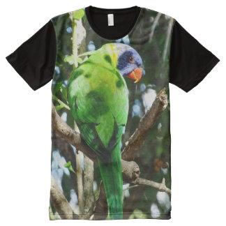 Rainbow Lorikeet All-Over Print T-Shirt