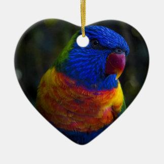 Rainbow Lorikeet Christmas Ornament