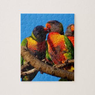 Rainbow Lorikeet jigsaw puzzle
