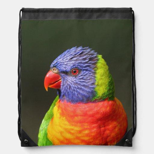 Rainbow Lorikeet Backpacks
