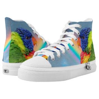 Rainbow Lorikeet Printed Shoes