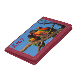 Rainbow Lorikeet wallet
