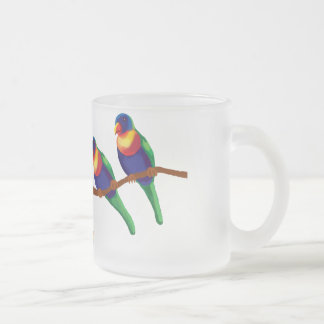 Rainbow lorikeets coffee mug