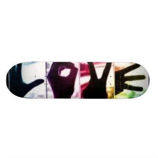 Rainbow Love 21.6 Cm Old School Skateboard Deck