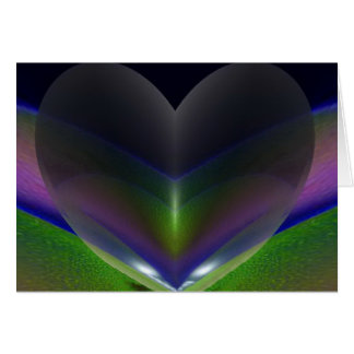 """Rainbow Love"" greeting card by Zoltan Buday"
