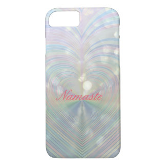 Rainbow love Namaste iPhone 8/7 Case