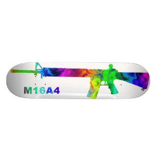 Rainbow M16 outline Skateboard