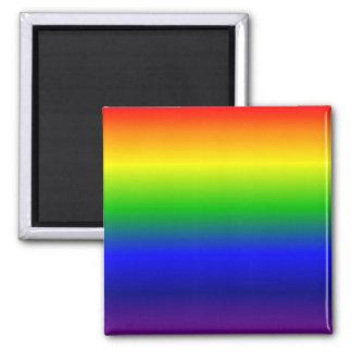 Rainbow Square Magnet