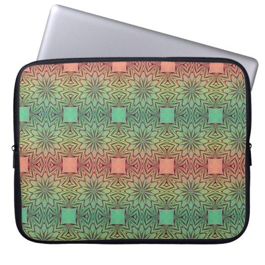 Rainbow Mandala Computer Sleeves