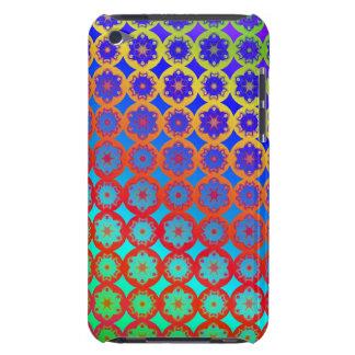 Rainbow Mandala Fractal Pattern iPod Case-Mate Cases