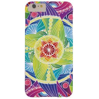 Rainbow Mandala iPhone case (White)