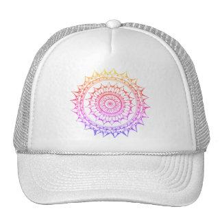 Rainbow Mandala Snapback Cap