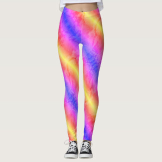 Rainbow Marble 2 Leggings