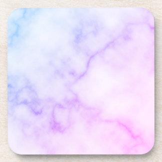 Rainbow Marble Pattern Coaster