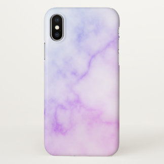 Rainbow Marble Pattern iPhone X Case