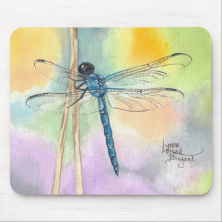 Rainbow March Dragonfly Mouse Pad