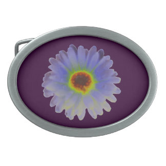 Rainbow Marigold Belt Buckle
