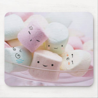 Rainbow Marshmallows Mouse Pad