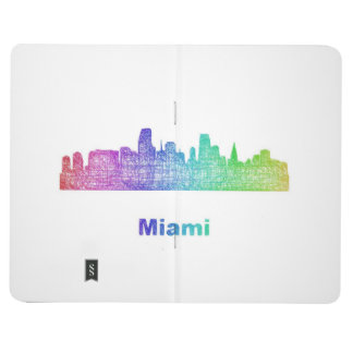 Rainbow Miami skyline Journal