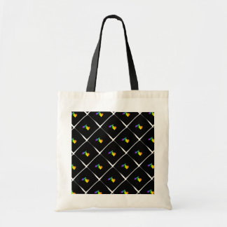 Rainbow Michigan Patterned Tote