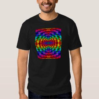 Rainbow Mind Warp Psychedelic Fractal T Shirt