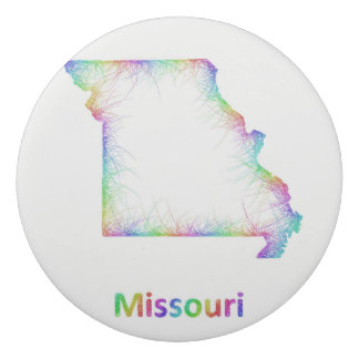 Rainbow Missouri map Eraser