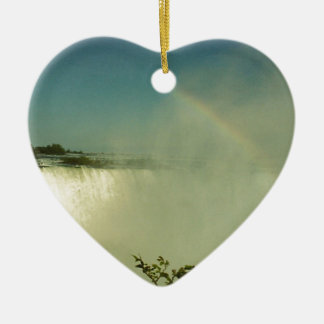 Rainbow Mist Christmas Ornament