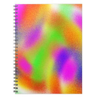 Rainbow Mix Note Books