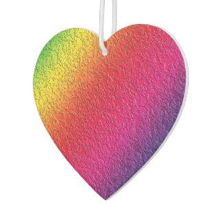 Rainbow Molten Glass Splash Effect Car Air Freshener
