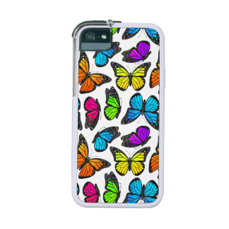 Rainbow Monarch Butterfly Pattern iPhone 5/5S Cover