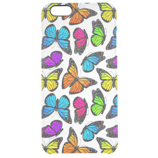 Rainbow Monarch Butterfly Pattern iPhone 6 Plus Case