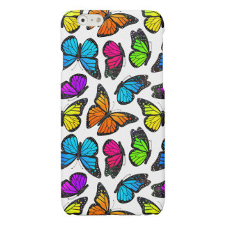 Rainbow Monarch Butterfly Pattern iPhone 6 Plus Case