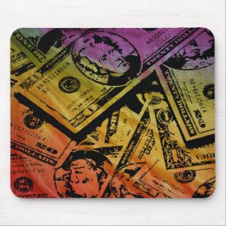 Rainbow Money Mousepad