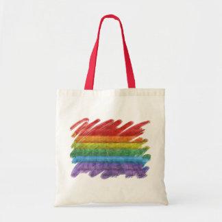 Rainbow Mosaic Gay Pride Flag (Paintbrush)