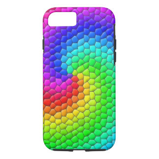 Rainbow Mosaic iPhone 8/7 Case