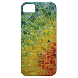 """Rainbow Mosaic Phone Case"" iPhone 5 Cases"