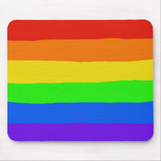 Rainbow Mouse Mat Mouse Pad