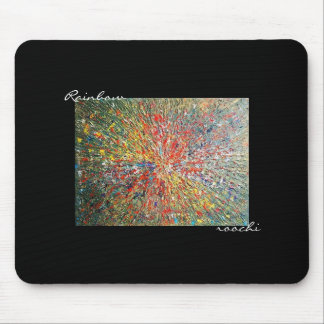 Rainbow Mouse Mouse Pad