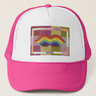 Rainbow Moustache Baseball Cap
