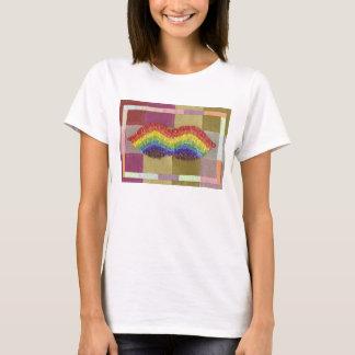 Rainbow Moustache T-Shirt