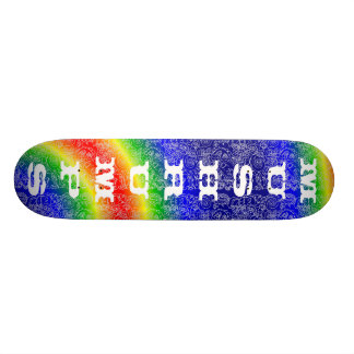 rainbow, mushrumps skate board decks