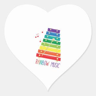 Rainbow Music Sticker