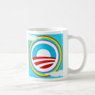 Rainbow Obama Marriage Equality Designs Basic White Mug