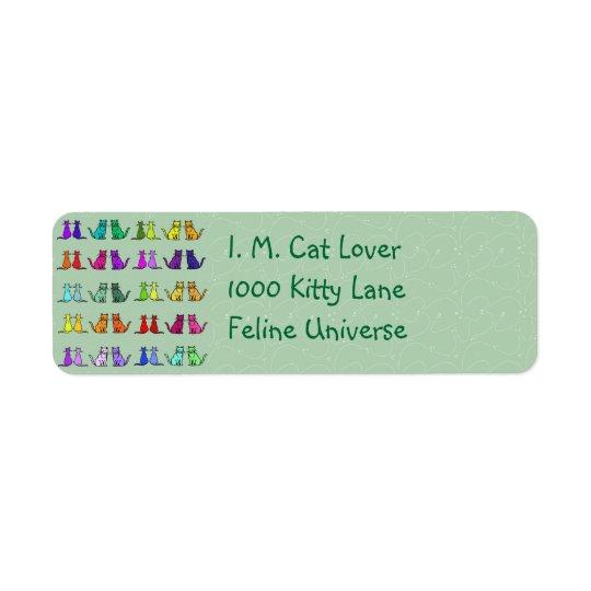 Rainbow Of Cats