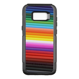 Rainbow of Colored Pencils OtterBox Commuter Samsung Galaxy S8+ Case